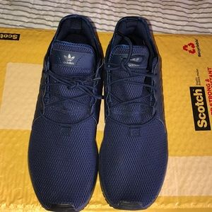 Men's Navy Blue Adidas Sneakers Shoes